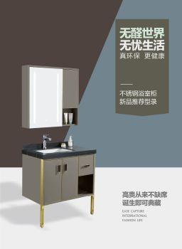 行運不銹鋼浴室柜電子圖冊 電子書制作軟件