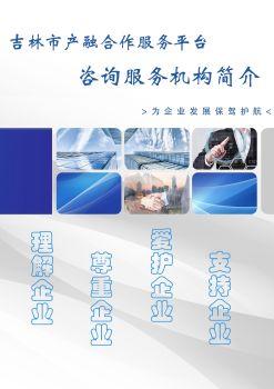 吉林市产融合作服务平台咨询服务机构简介电子书