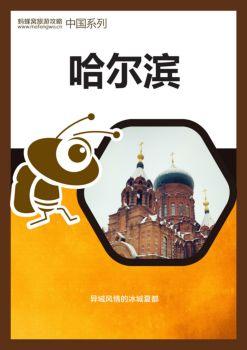 哈尔滨自助游攻略,哈尔滨自由行攻略宣传画册