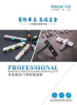 2019 艺隆华美高端五金画册