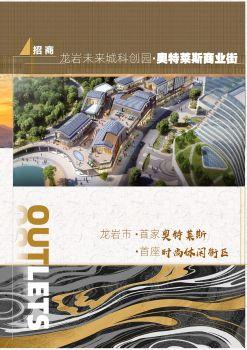 龙岩·未来城· 奥特莱斯休闲商业街宣传画册