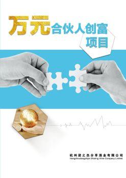 杭州梁之杰万元创富合伙人项目 电子杂志制作软件