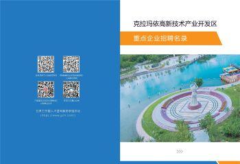 克拉玛依重点企业招聘名录电子画册 电子书制作软件