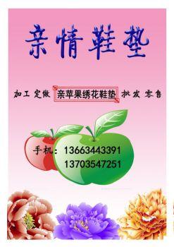 亲苹果—刺绣鞋垫展电子书