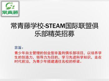 常青藤学校-STEAM国际联盟俱乐部精英电子画册