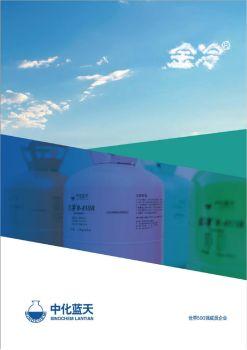 中化蓝天金冷工程宣传册,翻页电子画册刊物阅读发布