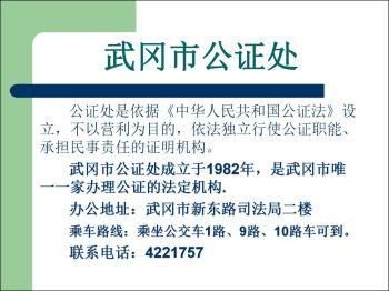 让财产,房屋等纠纷远离你,武冈公证给你公证!电子画册