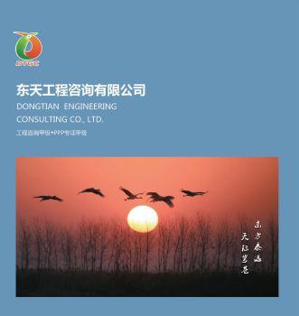 东天工程咨询有限公司宣传册