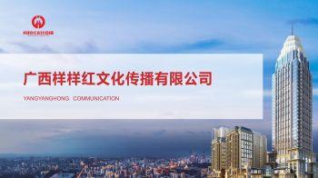 广西样样红文化传播有限公司宣传画册