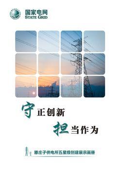 国网黄骅市供电公司滕庄子供电所五星级创建展示画册