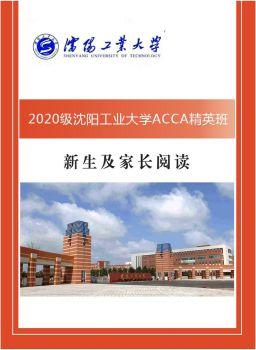 2020沈阳工业大学ACCA精英班电子书