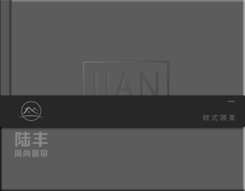 陆丰集团《简尚》欧式简美窗帘电子画册
