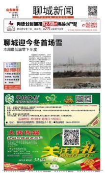 山东商报·聊城新闻宣传画册