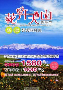 天吐库双飞5天--乌鲁木齐 天山天池、吐鲁番、库姆塔格沙漠电子书