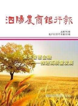 《泗阳农商银行报》电子刊 电子杂志制作平台