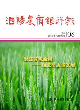 《泗阳农商银行报》2018年第1期测试