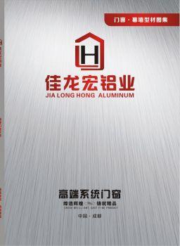 2020 佳龙宏铝业电子刊物