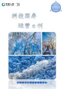 科技国寿 运营e刊2019第11期(总第15期)