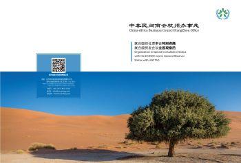 中非民间商会杭州办宣传册