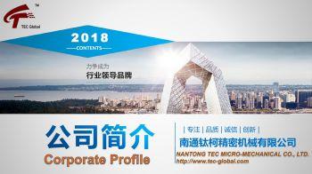 TEC Global公司簡介電子畫冊
