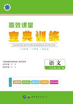 高效课堂宝典训练-语文七年级上册(人教版),数字书籍书刊阅读发布