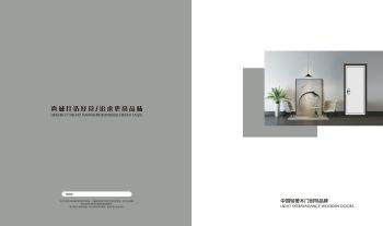 2020精品简约套装门电子画册