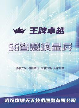 王牌卓越5G智慧屏招商画册 预览版