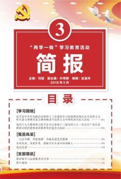 坪山外国语党支部五月学习简报电子画册