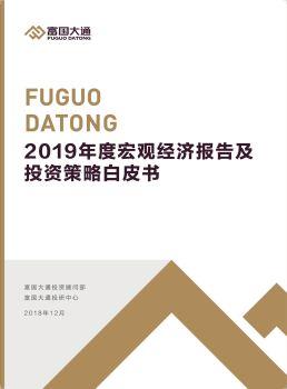 富国大通2019年度宏观经济报告及投资策略白皮书电子宣传册