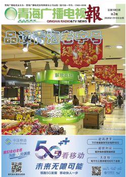 青海广播电视报手机报宣传画册