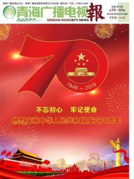 青海广播电视报总第1875期 电子书制作软件