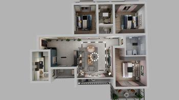 家居装修效果图电子画册