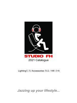 STUDIO FH Jan 2021 目录 - Lighting 灯具 / Accessories 饰品电子画册