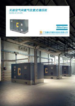DX,DN(37-315kW)无油空气和氮气往复式增压机(2019-12)电子宣传册