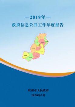 胶州市2019年政府信息公开工作年度报告电子画册
