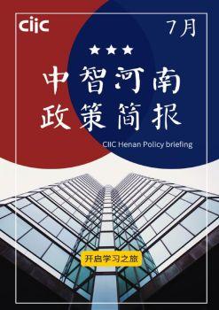 中智河南政策简报-2019年7月 电子杂志制作平台